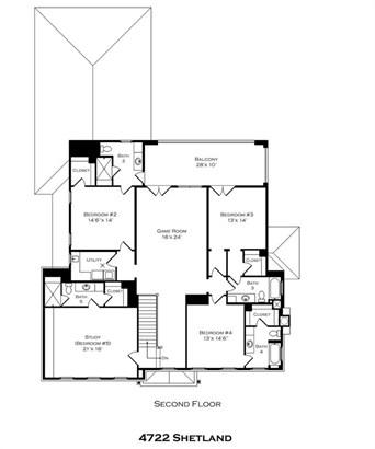 Second Floor Plan (photo 4)