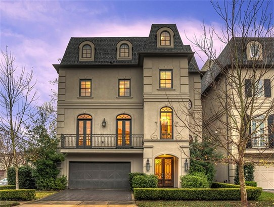 Impressive 4-story French Provincial home inside the Loop with free-flowing floor plan for easy entertaining! (photo 1)