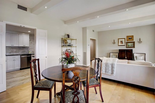 Dining & Living Room combination with convenient kitchen access. (photo 5)