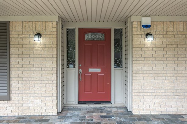 Inviting slate covered front entrance leads to an amazing home with countless updates! (photo 2)
