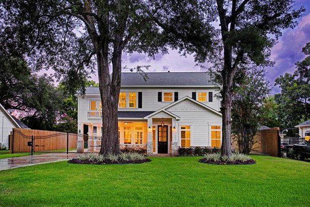 New construction 5 bed/3.2 bath home in Garden Oaks located on an oversized 12,000sqft lot with specimen live oaks trees (photo 1)