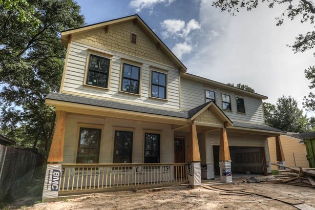 1710 Candlelight will offer a craftsman style facade with front porch and brick accenting easy maintenance hardi siding. (photo 1)