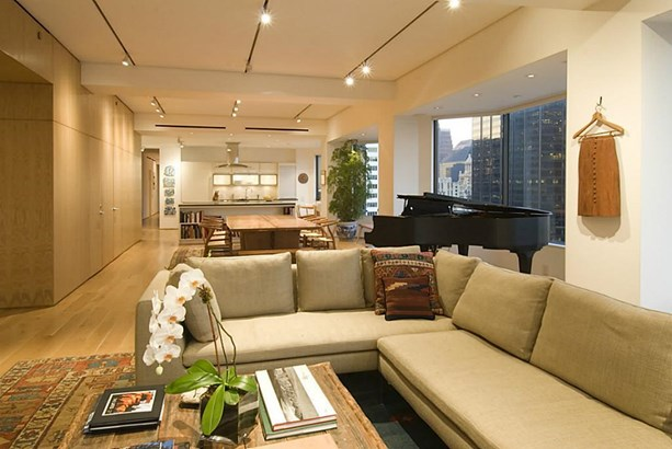 Another view of the formal living room with gorgeous hardwood floors. (photo 3)