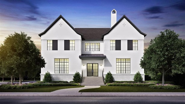 3603 Durness Way by Ashton Gray Development: Front elevation rendering. Situated on a tree-lined corner lot in Braes Heights, this home includes impressive features not to be replicated. A transformative home with innovative style is currently under const (photo 1)