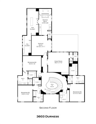 Second level plan (photo 4)