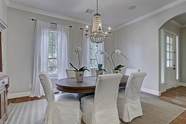 The formal dining room is just off the kitchen with butler s pantry with a wine refrigerator. (photo 3)