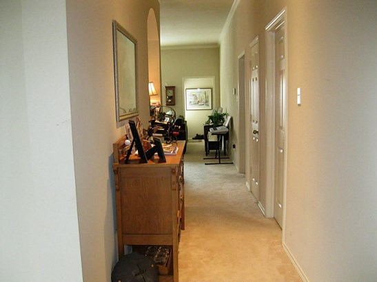 Entry Hall into home with dining room to left - presently used as an office. (photo 1)