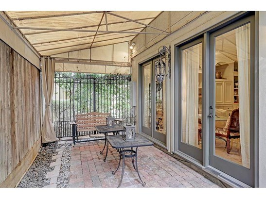 Awning covered and open space rear patio makes it feel like an additional living space (photo 5)