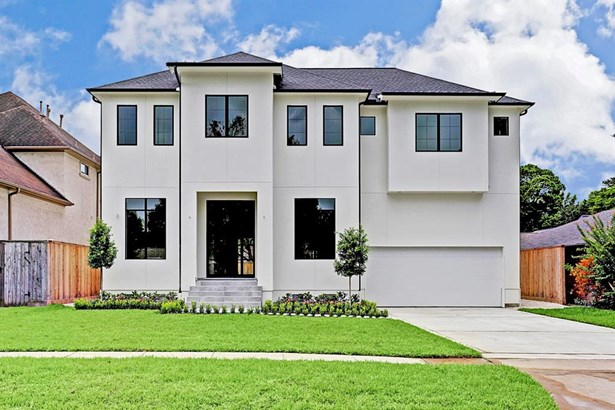 Fabulous NEW CONSTRUCTION, almost complete and inside The Loop in Bellaire! 5 Bedrooms including a first floor guest room with en-suite bath.