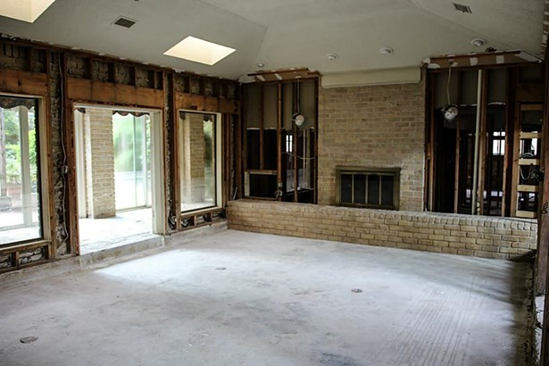 Family Room with view of back yard. (photo 4)
