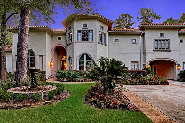 Gorgeous Mediterranean Estate on almost an acre in close-in Memorial (photo 1)