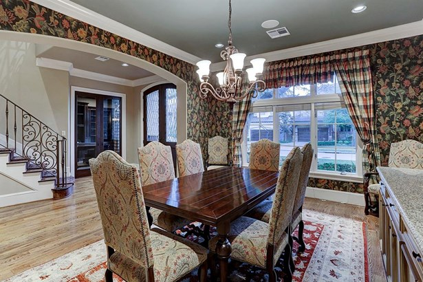 The gracious formal dining room is great for special holiday entertaining. (photo 3)