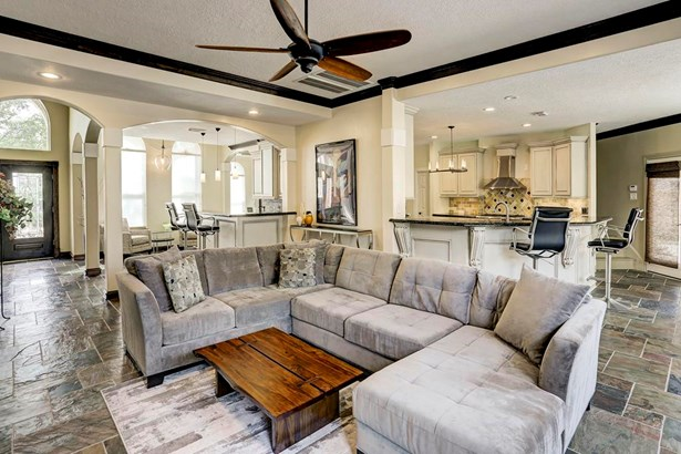 Updated with a terrific open floor plan this home is designed for entertaining. (photo 3)