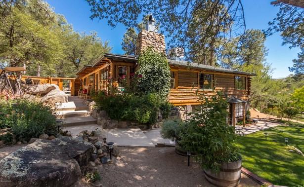 Log,Walkout Basement,Multi-Level, Site Built Single Family - Prescott, AZ (photo 1)