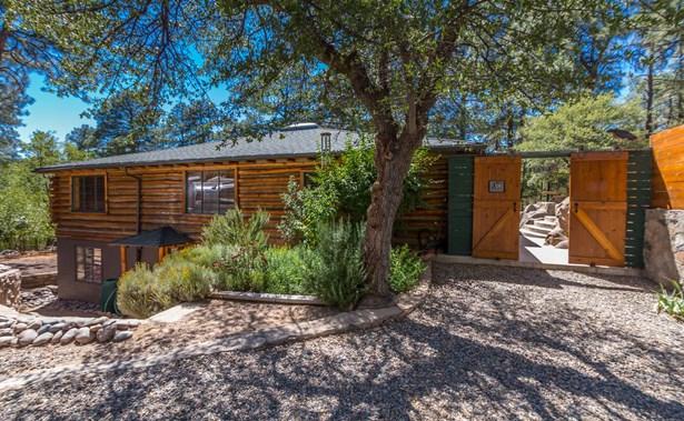 Log,Walkout Basement,Multi-Level, Site Built Single Family - Prescott, AZ (photo 4)