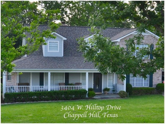 3404 West Hilltop, Chappell Hill, TX - USA (photo 1)