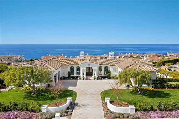 Mediterranean, Single Family Residence - Rancho Palos Verdes, CA