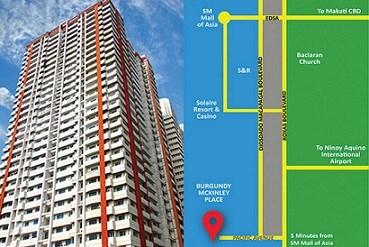 Unit 302 Burgundy Mckinley Place, Pacific Ave.,asi, Paranaque City - PHL (photo 1)