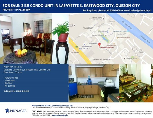 8th Floor Lafayette 3,eastwood City, Quezon City - PHL (photo 1)