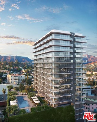 Condominium, Modern - Hollywood, CA