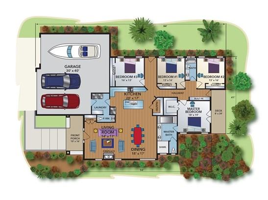Single Family Residence, Mediterranean,Spanish - Paso Robles, CA (photo 2)