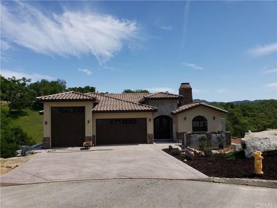Custom Built,Mediterranean, Single Family Residence - Paso Robles, CA (photo 2)