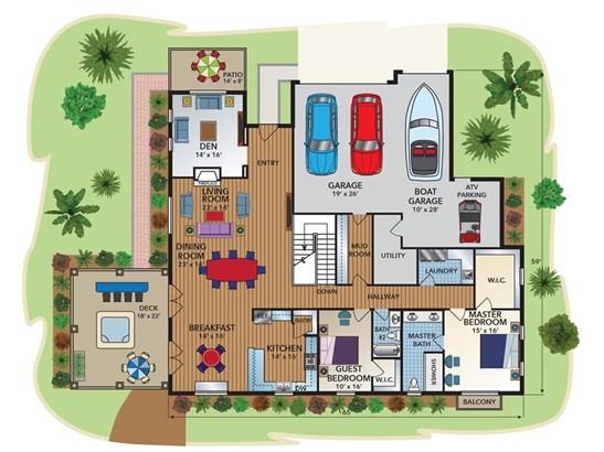 Custom Built,Mediterranean, Single Family Residence - Paso Robles, CA (photo 3)