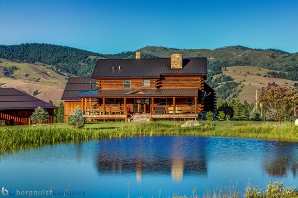Single Family Residence, Log - Darby, MT (photo 2)