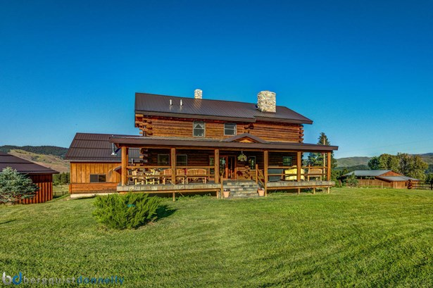 Single Family Residence, Log - Darby, MT (photo 3)