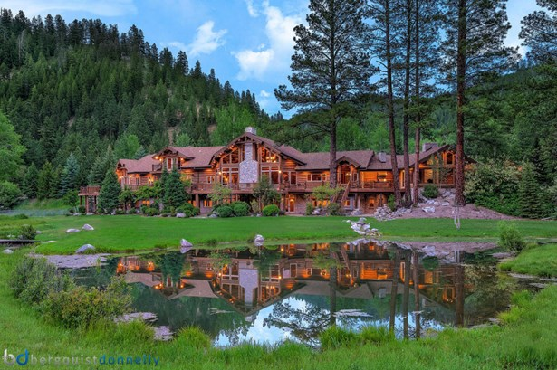 Single Family Residence, Log - Darby, MT (photo 1)