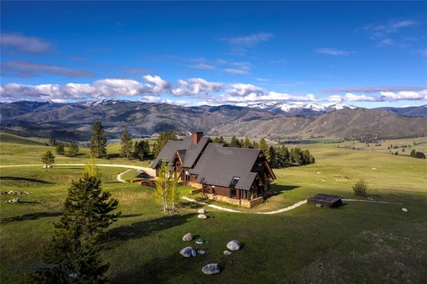 Contemporary,Rustic,Custom, Single Family - Darby, MT