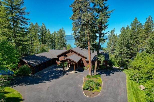 Single Family Residence, Log - Bigfork, MT