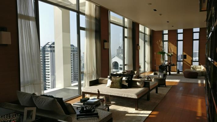 SALE 1Penthouse with Private Pool Sukhothai Residences in bangkok,