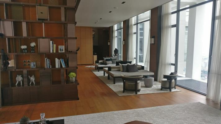 SALE 1Penthouse with Private Pool Sukhothai Residences in bangkok, (photo 4)