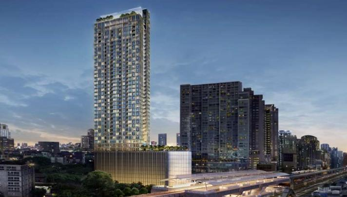 SALE 1Luxury 3 Bed Penthouse for Sale at Esse 36 in bangkok,