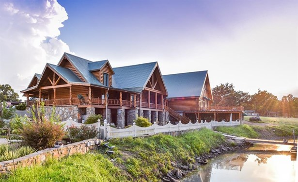 Country,Log Home,Ranch,Split Level, House - Muldrow, OK (photo 1)