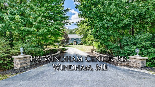 Single Family Residence, Colonial - Windham, ME