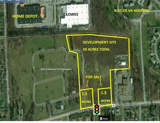 370 Evans City Rd Lot 2, Butler, PA - USA (photo 1)