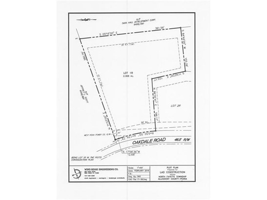 Lot 1r Oakdale Rd, North Fayette, PA - USA (photo 1)
