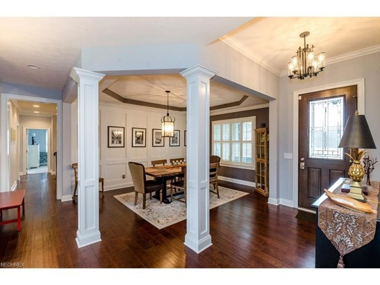 Paneled Columns and Tray Ceiling with Crown Trim, Open Flow to Great Room. (photo 2)