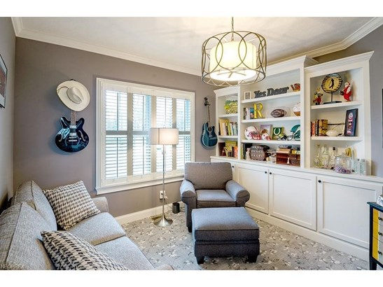 Custom Built Bookshelves and Crown Trim, Private and Perfect for Home Office or Den. (photo 5)