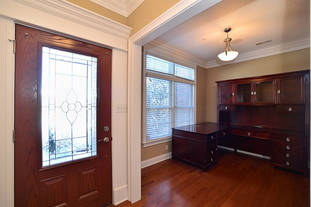 507 Gala Drive Canonsburg, PA - Upon entering a multi functional room separates the kitchen from entry way and has been utilized as a Den look out of the front windows. (photo 3)