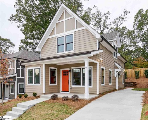 Single Family-Detached, Bungalow,Traditional - Greenville, SC