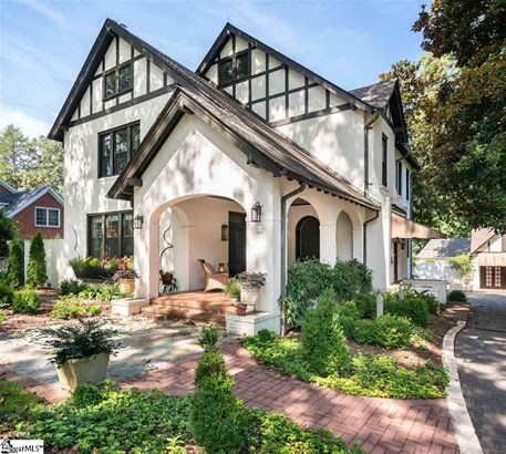 Traditional, Tudor, Single Family-Detached - Greenville, SC