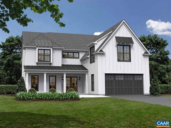 Colonial,Farm House, Proposed Detached - CROZET, VA
