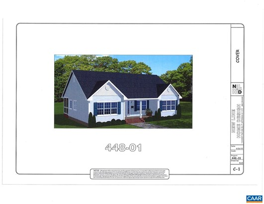 Proposed Detached, Ranch - BARBOURSVILLE, VA