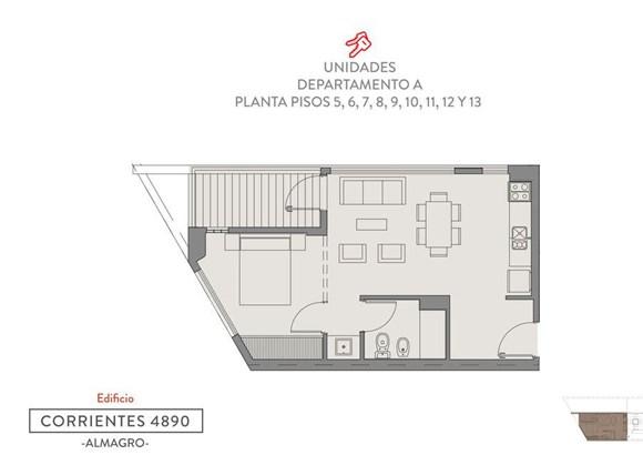Av. Corrientes 4890, Villa Crespo - ARG (photo 3)