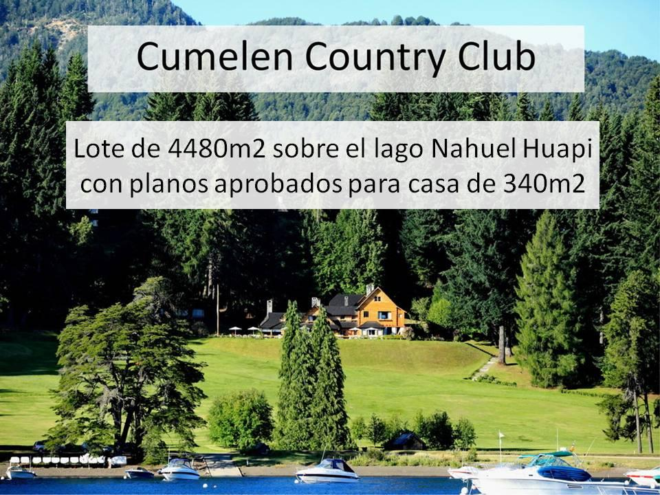 Lote En Cumelén Country Club, Cumelen - ARG (photo 1)