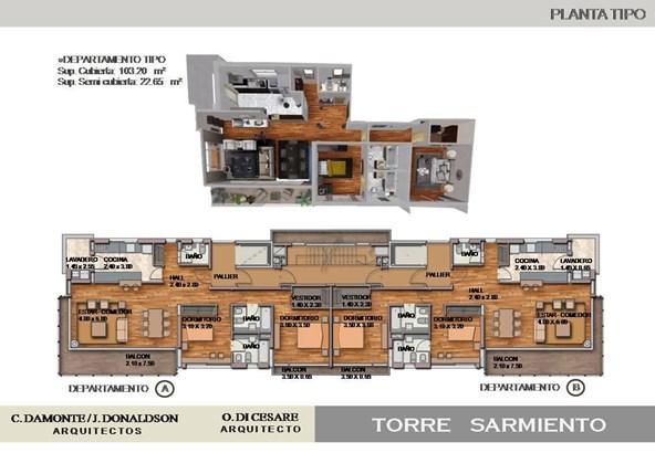 Sarmiento 291 14º B, Mart.-vias/santa Fe - ARG (photo 2)