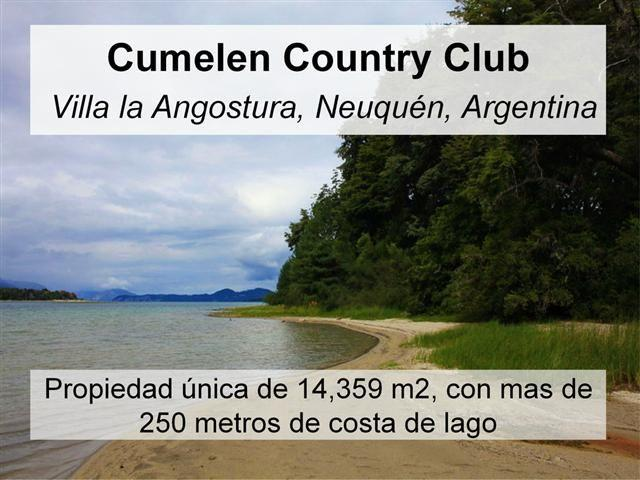 Cumelen Country Club 0, Villa La Angostura - ARG (photo 1)